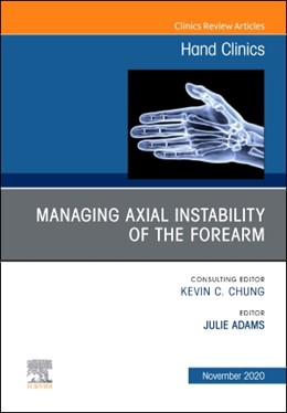 Abbildung von Adams | Managing Instability of the Wrist, Forearm and Elbow, An Issue of Hand Clinics | 1. Auflage | 2020 | beck-shop.de