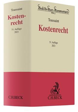 Abbildung von Toussaint | Kostenrecht: KostR | 51. Auflage | 2021 | Band 2 | beck-shop.de