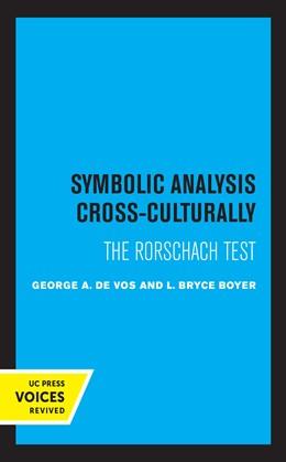 Abbildung von De Vos / Boyer | Symbolic Analysis Cross-Culturally | 1. Auflage | 2021 | beck-shop.de