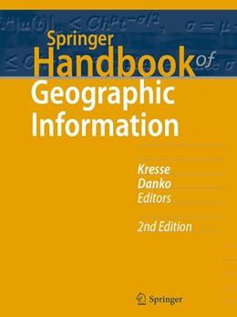 Abbildung von Kresse / Danko   Springer Handbook of Geographic Information   2. Auflage   2021   beck-shop.de