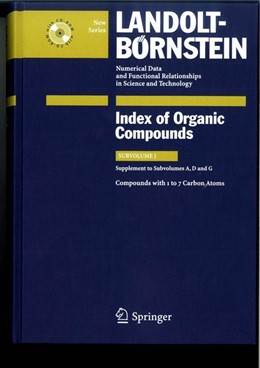 Abbildung von Bauhofer / Peters | Compounds with 1 to 7 Carbon Atoms (Supplement to Subvolume A, D and G) | 2008 | 3J