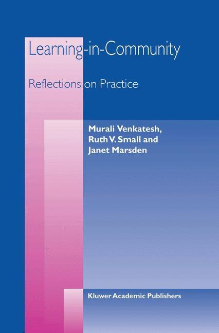Abbildung von Venkatesh / Small / Marsden | Learning-in-Community | 2003