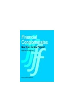 Abbildung von van den Berghe | Financial Conglomerates | 1995 | New Rules for New Players?