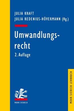 Abbildung von Kraft / Redenius-Hövermann   Umwandlungsrecht   2. Auflage   2020   beck-shop.de