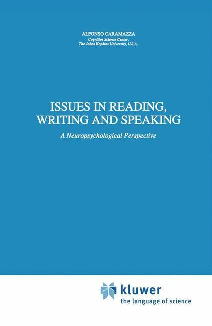 Abbildung von Caramazza | Issues in Reading, Writing and Speaking | 1990