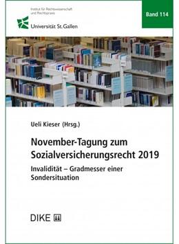 Abbildung von Kieser | November-Tagung zum Sozialversicherungsrecht 2019 | 1. Auflage | 2020 | Band 114 | beck-shop.de
