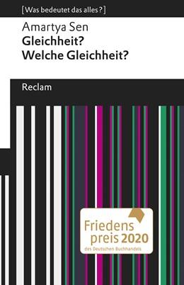 Abbildung von Sen   Gleichheit? Welche Gleichheit?   1. Auflage   2020   beck-shop.de