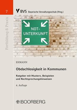 Abbildung von Ehmann | Obdachlosigkeit in Kommunen | 4. Auflage | 2020 | beck-shop.de