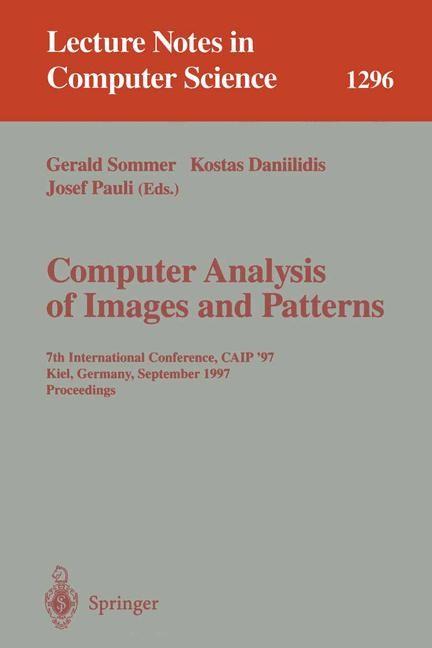 Abbildung von Sommer / Daniilidis / Pauli   Computer Analysis of Images and Patterns   1997