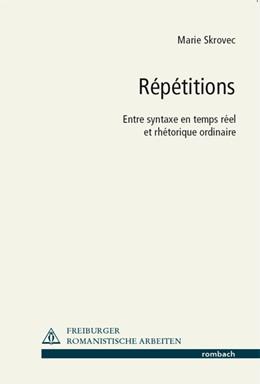 Abbildung von Skrovec | Répétitions | 1. Auflage | 2014 | beck-shop.de