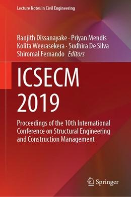 Abbildung von Dissanayake / Mendis | ICSECM 2019 | 1. Auflage | 2020 | 94 | beck-shop.de