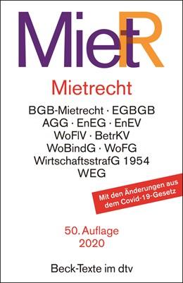 Abbildung von Mietrecht: MietR   50. Auflage   2020   5013   beck-shop.de