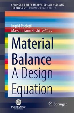 Abbildung von Paoletti / Nastri | Material Balance | 1. Auflage | 2020 | beck-shop.de