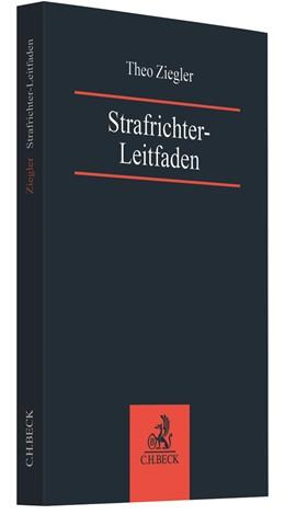 Abbildung von Ziegler   Strafrichter-Leitfaden   1. Auflage   2021   beck-shop.de