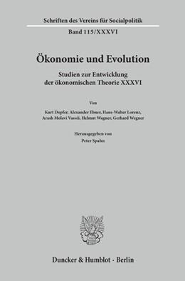 Abbildung von Spahn | Ökonomie und Evolution. | 1. Auflage | 2020 | beck-shop.de