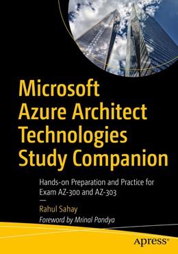 Abbildung von Sahay   Microsoft Azure Architect Technologies Study Companion   1. Auflage   2020   beck-shop.de
