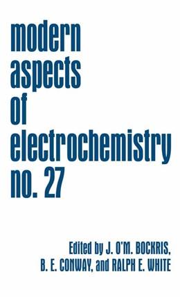 Abbildung von Bockris / Conway / White | Modern Aspects of Electrochemistry | 1995 | 27