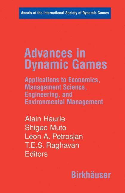 Abbildung von Haurie / Muto / Petrosjan / Raghavan | Advances in Dynamic Games | 2006
