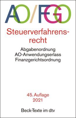 Abbildung von Abgabenordnung: AO / FGO | 45. Auflage | 2021 | 5548 | beck-shop.de