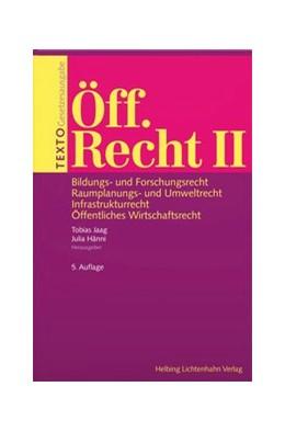 Abbildung von Jaag / Hänni | Texto Öff. Recht II | 5. Auflage | 2020 | beck-shop.de