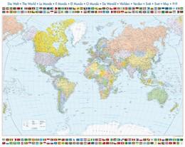 Abbildung von Weltkarte mit Flaggen | 1. Auflage | 2018 | beck-shop.de