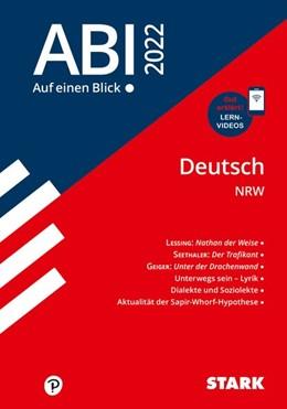 Abbildung von STARK Abi - auf einen Blick! Deutsch NRW 2022 | 1. Auflage | 2020 | beck-shop.de