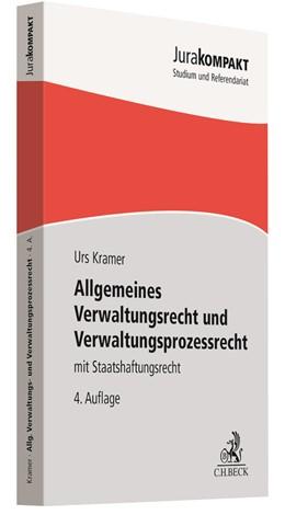 Abbildung von Kramer | Allgemeines Verwaltungsrecht und Verwaltungsprozessrecht | 4. Auflage | 2021 | beck-shop.de