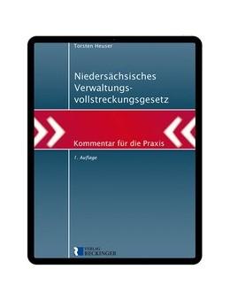 Abbildung von Heuser | Niedersächsisches Verwaltungsvollstreckungsgesetz – Digital | 1. Auflage | 2020 | beck-shop.de