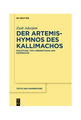Abbildung von Adorjáni | Der Artemis-Hymnos des Kallimachos | 1. Auflage | 2021 | 66 | beck-shop.de