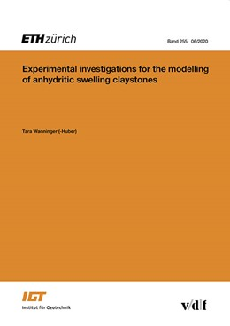 Abbildung von Wanninger (-Huber) | Experimental investigations for the modelling of anhydritic swelling claystones | 1. Auflage | 2020 | 255 | beck-shop.de