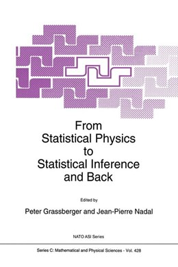 Abbildung von Grassberger / Nadal | From Statistical Physics to Statistical Inference and Back | 1994 | 428