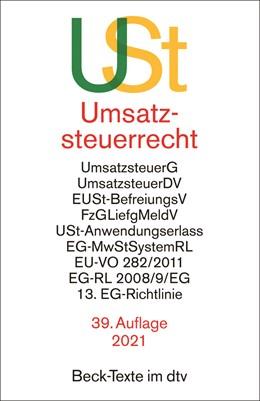 Abbildung von Umsatzsteuerrecht: USt | 39. Auflage | 2021 | 5546 | beck-shop.de