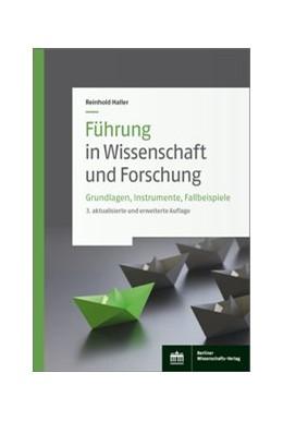 Abbildung von Haller | Führung in Wissenschaft und Forschung | 3. Auflage | 2020 | beck-shop.de