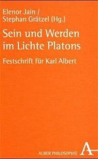 Abbildung von Jain / Grätzel | Sein und Werden im Lichte Platons | 2001
