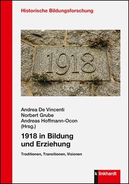 Abbildung von De Vincenti / Grube   1918 in Bildung und Erziehung   1. Auflage   2020   beck-shop.de