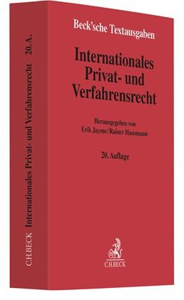 Abbildung von Internationales Privat- und Verfahrensrecht   20. Auflage   2020   beck-shop.de