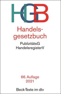 Abbildung von Handelsgesetzbuch: HGB   66. Auflage   2021   5002   beck-shop.de