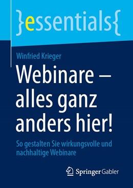 Abbildung von Krieger | Webinare – alles ganz anders hier! | 1. Auflage | 2020 | beck-shop.de