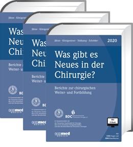 Abbildung von Jähne / Königsrainer | Was gibt es Neues in der Chirurgie? Jahresbände 2018, 2019, 2020 | 1. Auflage | 2020 | beck-shop.de