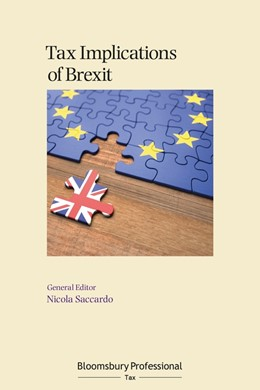 Abbildung von Saccardo | Tax Implications of Brexit | 1. Auflage | 2021 | beck-shop.de