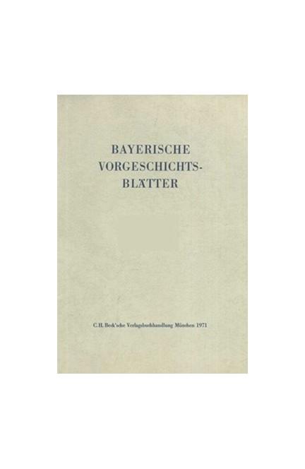 Cover: , Bayerische Vorgeschichtsblätter 2020