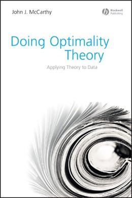 Abbildung von McCarthy   Doing Optimality Theory   2008   Applying Theory to Data
