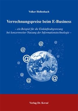 Abbildung von Hollenbach | Verrechnungspreise beim E-Business | 2005 | ein Beispiel für die Einkünfte... | 16
