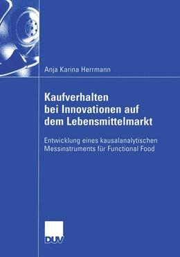 Abbildung von Herrmann | Kaufverhalten bei Innovationen auf dem Lebensmittelmarkt | 2003