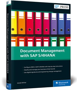 Abbildung von Akhtar | Document Management with SAP S/4HANA | 1. Auflage | 2020 | beck-shop.de