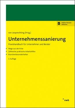 Abbildung von von Leoprechting (Hrsg.)   Unternehmenssanierung   3. Auflage   2020   beck-shop.de