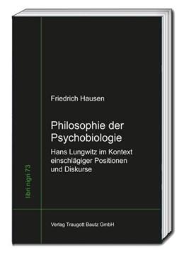 Abbildung von Hausen / Sepp | Philosophie der Psychobiologie | 1. Auflage | 2020 | beck-shop.de