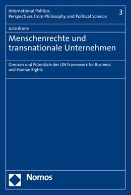 Abbildung von Brune | Menschenrechte und transnationale Unternehmen | 1. Auflage | 2020 | Band 3 | beck-shop.de