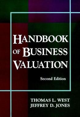 Abbildung von West / Jones | Handbook of Business Valuation | 2. Auflage | 1999