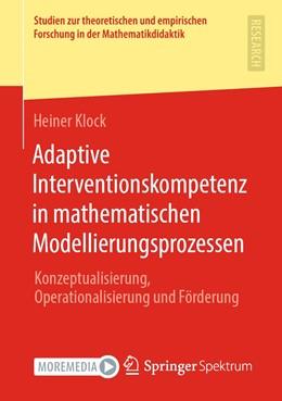 Abbildung von Klock | Adaptive Interventionskompetenz in mathematischen Modellierungsprozessen | 1. Auflage | 2020 | beck-shop.de